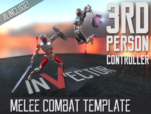 Third Person Controller - Melee Combat Template Unity Asset