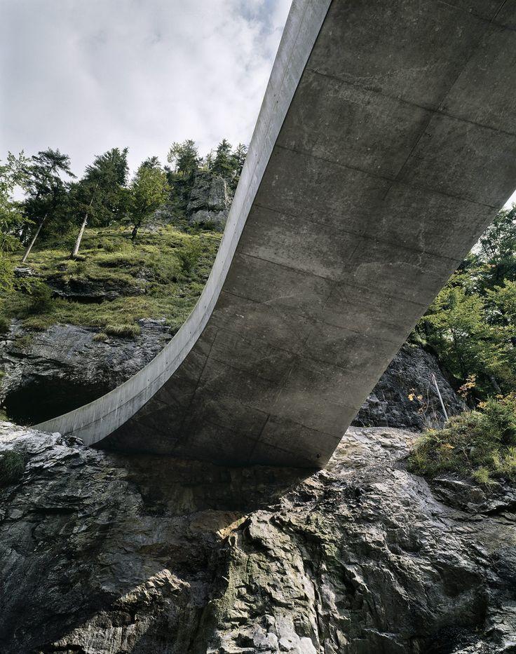 Marte.Marte Architekten, Marc Lins · Schanerloch Bridge
