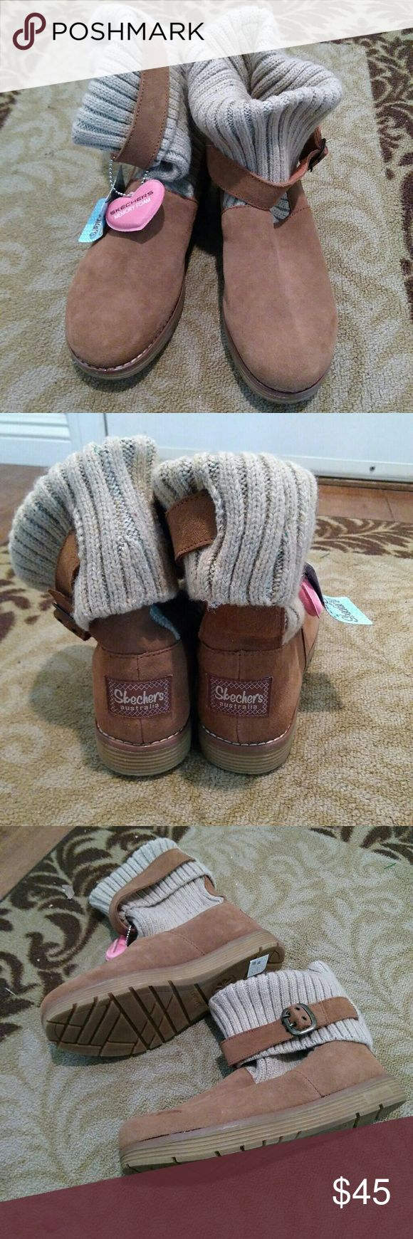 I just added this listing on Poshmark: NWT Skechers knit suede boots. #shopmycloset #poshmark #fashion #shopping #style #forsale #Skechers #Shoes