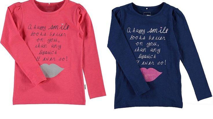 Name it: shirt nitjuna roze, €10,95, maat 104-146/152 http://www.blauwlifestyle.nl/nl/kinderkleding.html?merken=150