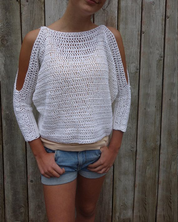 ad2175f4f Sweater Crochet PATTERN - Lily of the Valley CropTop  Modern Rustic ...