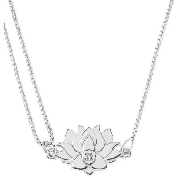 Alex and Ani 'Providence' Pull Chain Lotus Pendant Necklace (305 MYR) ❤ liked on Polyvore featuring jewelry, necklaces, silver, adjustable necklace, adjustable chain necklace, 14k necklace, alex and ani necklaces and 14k jewelry