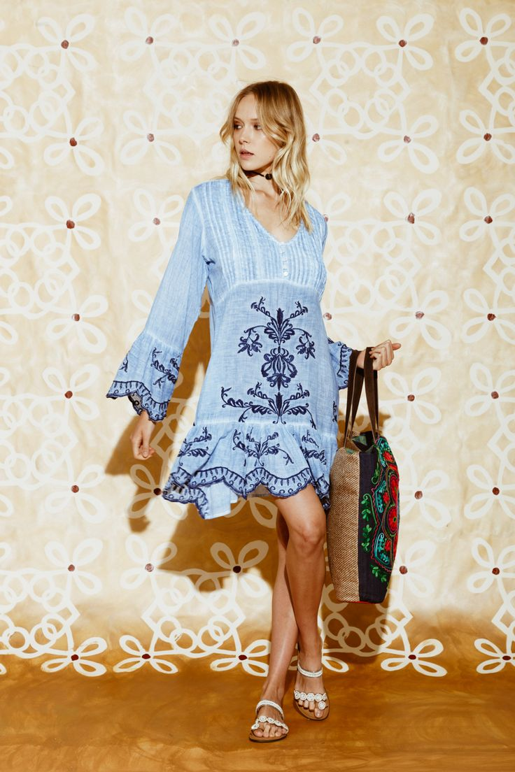 Ruby Yaya | Made with love #embroidery #rubyaya #mediterreneanstyle #holidaywear #spring