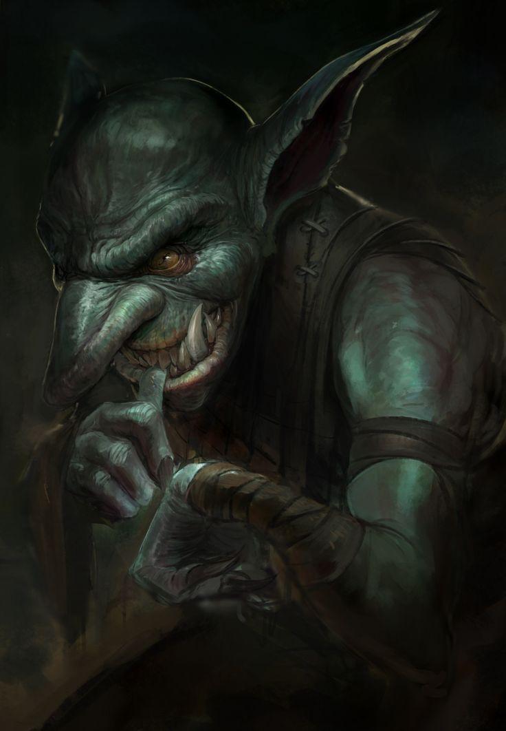 ArtStation - Goblin, Tuncer Eren