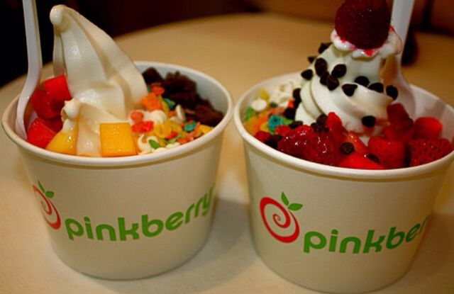 Frozen yogurt is a great option because you could get healthy or unhealthy toppings!