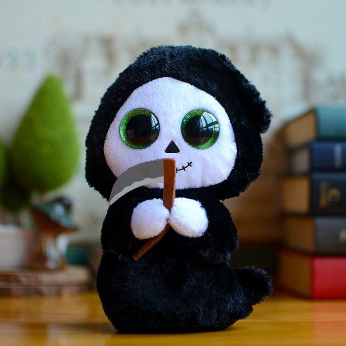 689,08 руб.  В исходном номера большие глаза шапочка боос дети плюшевые игрушки призрак с серповидно кулон рождественские подарки прекрасные каваи симпатичные мягкие куклы купить на AliExpress