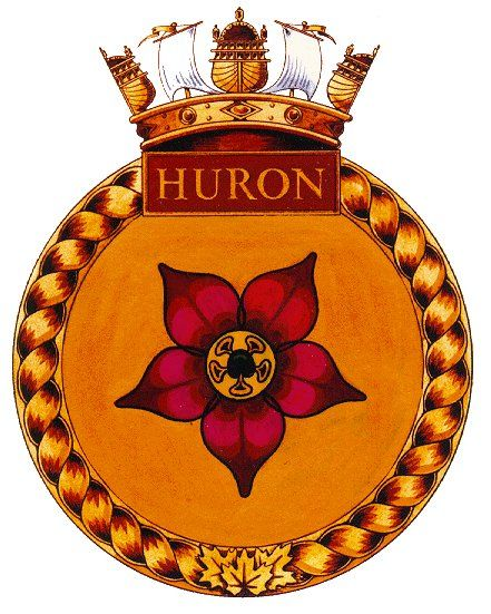 HMCS Iroquois Badges