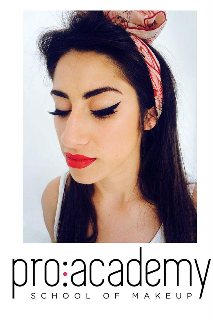 #makeupbyproacademy #pinupgirl #art&fun