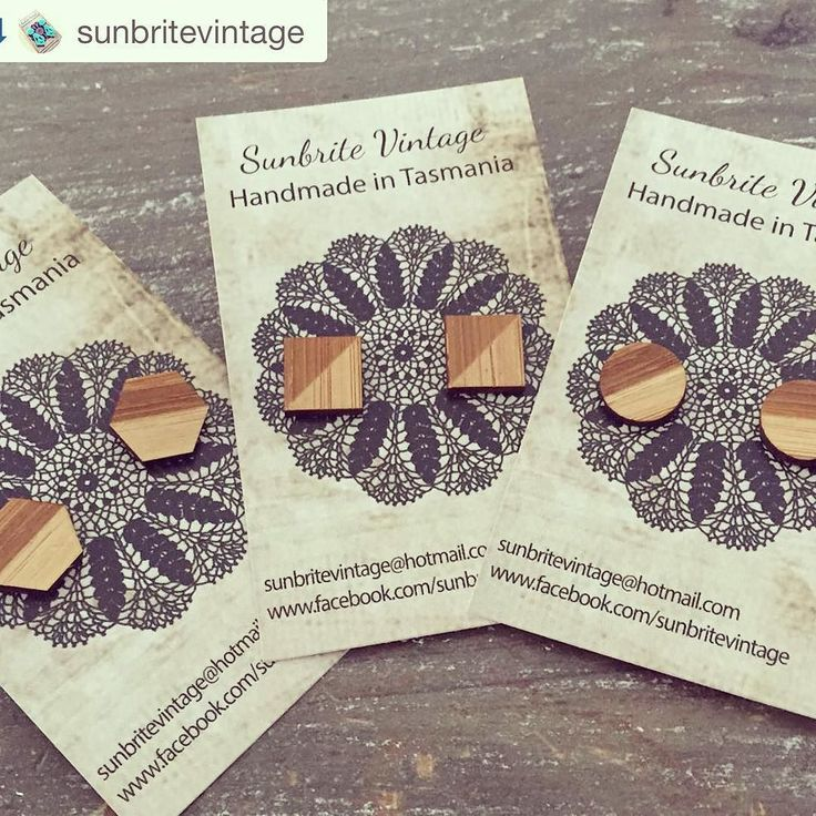Not long now! @sunbritevintage is ready with some great gift ideas this Sunday at Long Beach 10-3    N A T U R A L  Bamboo studs! Available from @hobarttwilightmarket on Friday night and @lazymaymarkets on Sunday! #sunbritevintage #supportsmall #hobarttwilightmarket #lazymaymarkets #handmade #bamboo #bambooearrings by lazymaymarkets