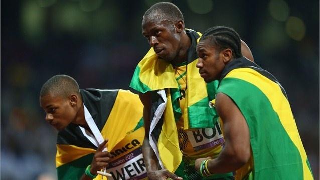 The Jamaica Triple - 200m: Olympic 2012, Bolt Leggenda, London 2012, Jamaican Athletic, Men 200M, 2012 Olympic, Olympic Athletic, 2012 London, Athletic Photo