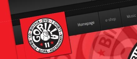 Gorilla11 music store website