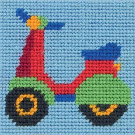 Anchor Kids Scooter , great idea for perler beads