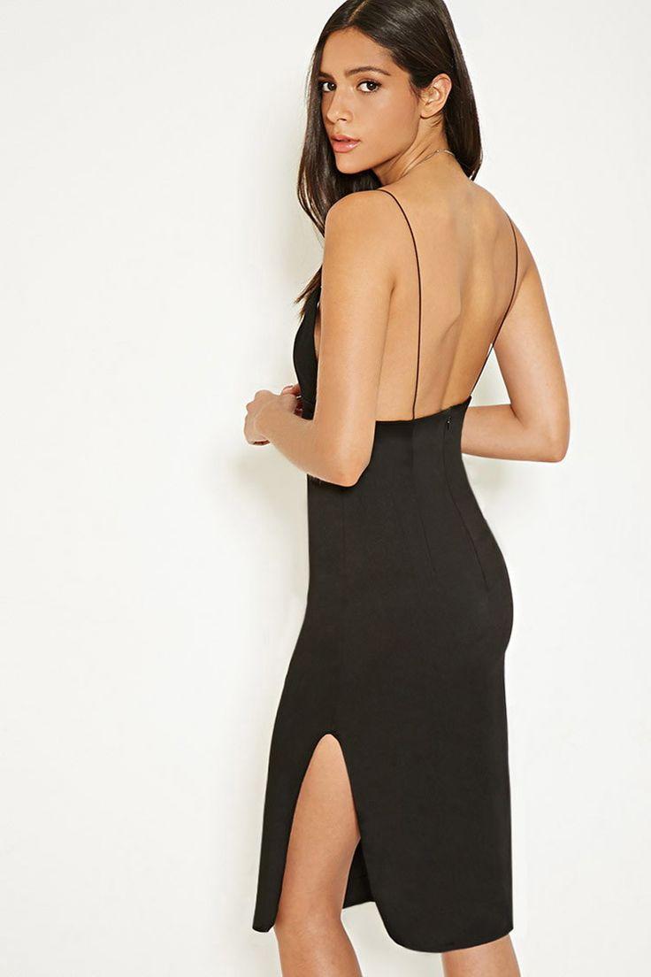 MLM Cami Side Slit Dress