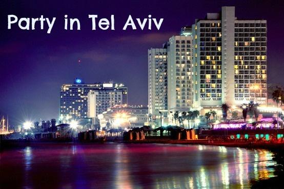 Bucket List: Party in Tel Aviv - Vicky Philpott