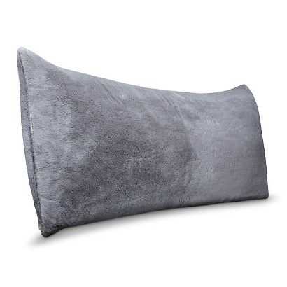 Faux Fur Body Pillow Cover White - Room Essentials™