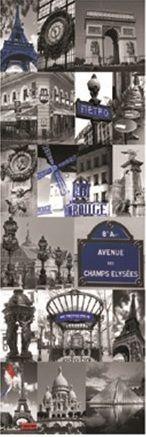 Tablou canvas- Paris Blue RON70