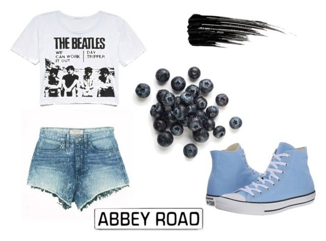 Beatles summer set by anita-gyulai on Polyvore featuring GUESS, Converse and Urban Decay