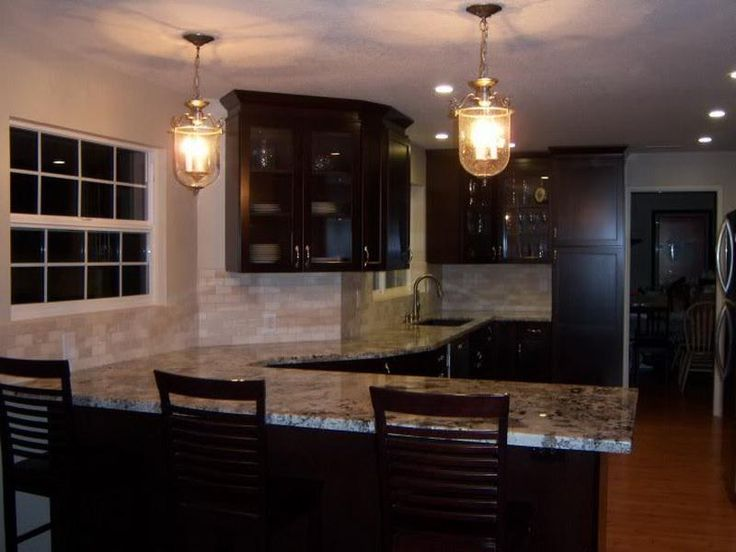 find this pin and more on lighting by silvercreek1 kitchen best pictures of kitchens with dark