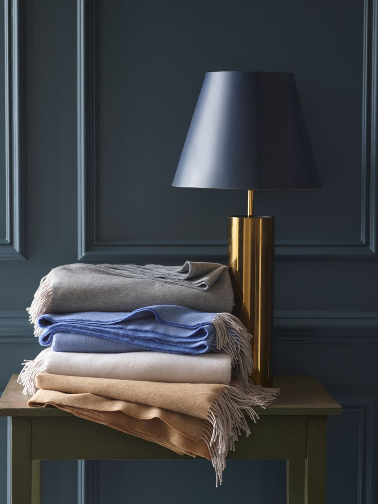Merino wool is exceptional soft, and unbelievable warm for such a light fabric. Our Tartini throw is beautifully woven in 4 soothing colors to accentuate these characteristics.