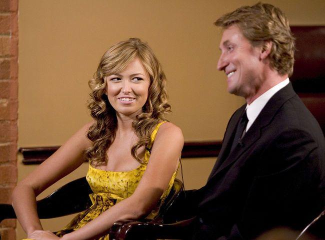 Wayne Gretzky and daughter