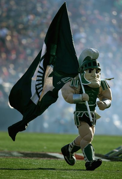 Sparty, 100th Rose Bowl Game, 01/01/2014
