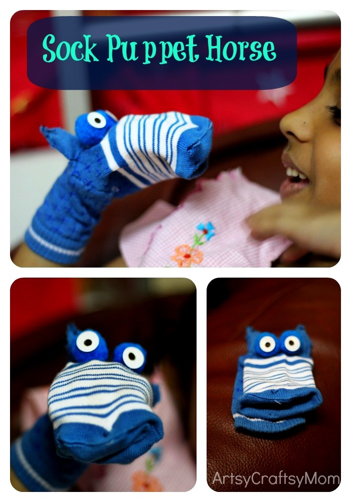 Artsy Craftsy Mom: A lazy day with a sock puppet