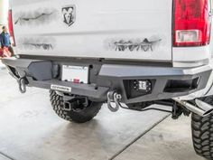Go Rhino - Go Rhino 28219T Rear Bumper Dodge RAM 2500/3500 2010-2016