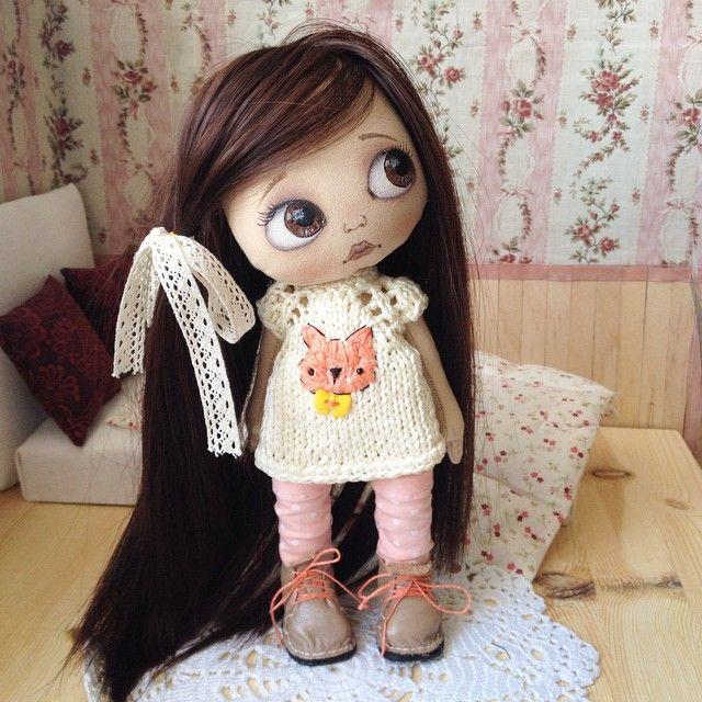 Добрый день! Куколка готова))) на заказ. #кукла #куклаолли #олли #artdoll #doll #dolls #ollydoll