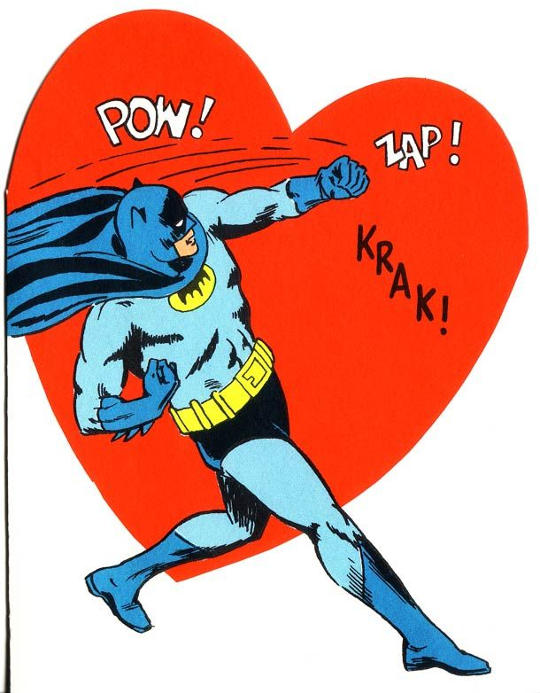 batman valentine exchange box
