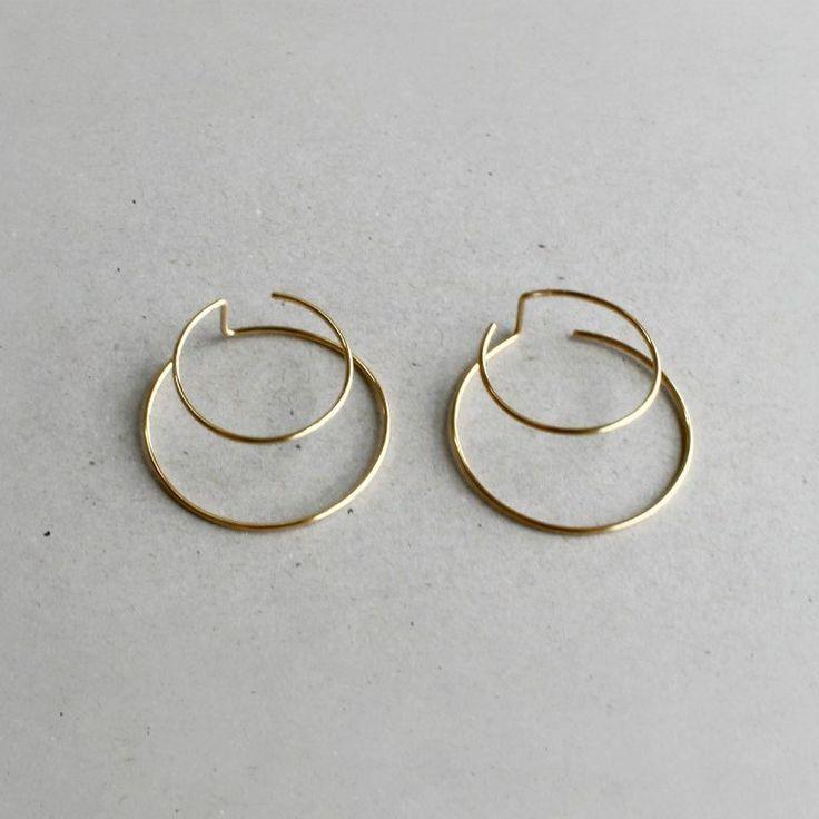 Earrings Idea | Gold Hoops