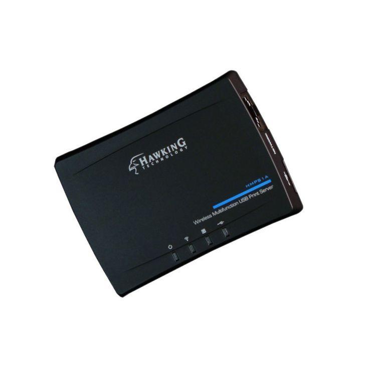 ICYMI: Hawking Technology Wireless Multifunction USB Print Server (HMPS1A) New