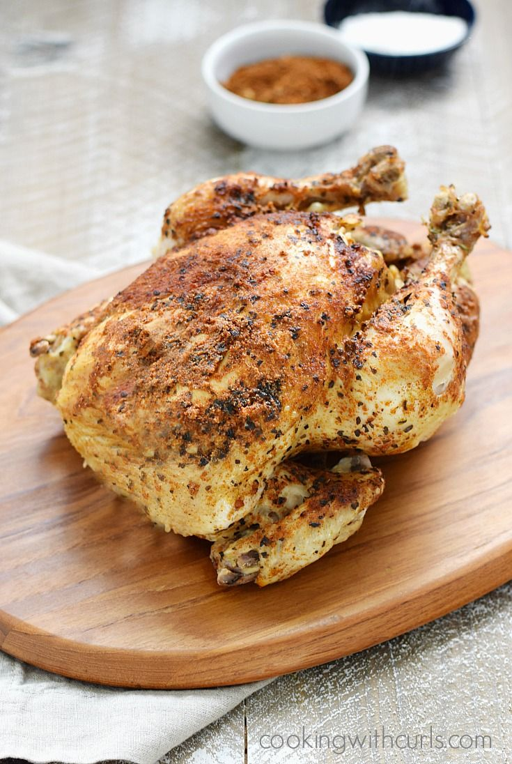 Weeknight meals just got easier with this delicious Instant Pot Faux-tisserie Chicken that is ready in no time and you control the seasonings!