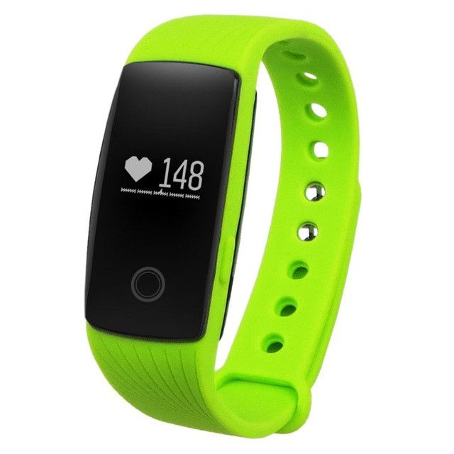 Bluetooth Smart Watch With Heart Rate Monitor Pedometer Remote Camera Function Waterproof