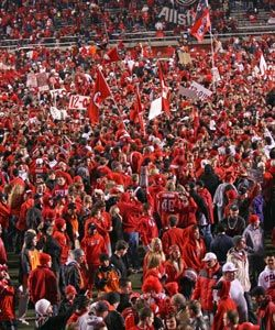 Utah Utes Football going to the Pac 12.  Great future ahead for them.