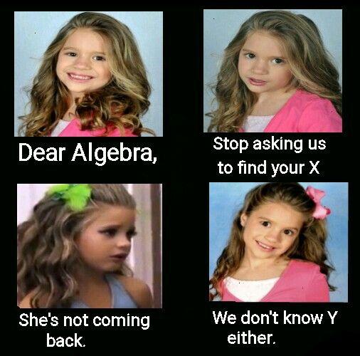 Math punrepin if you get it