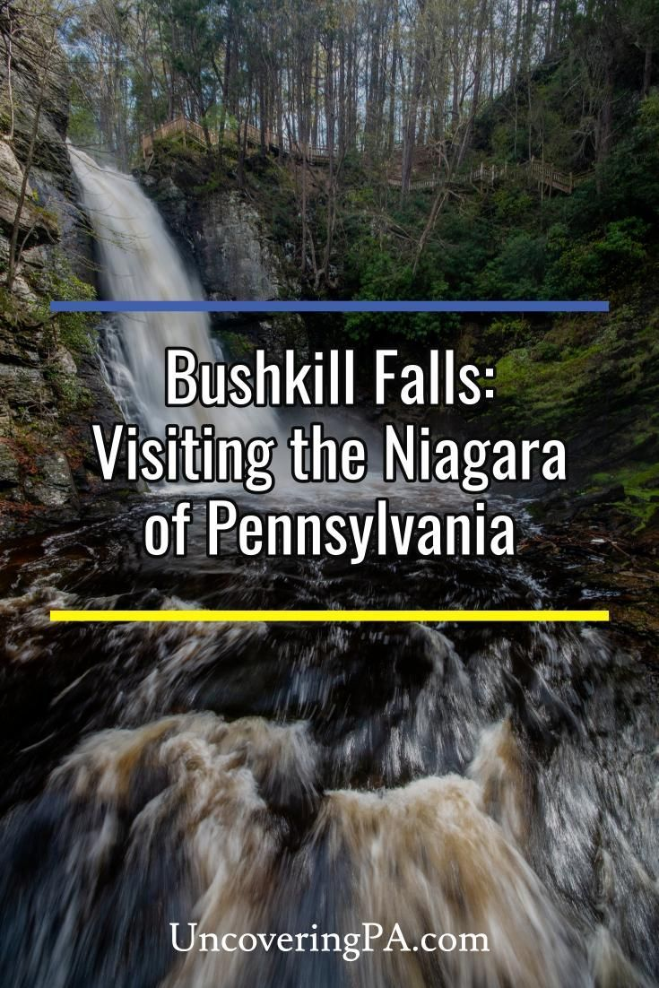 Bushkill Falls Is It Worth Paying To See This Waterfall In The