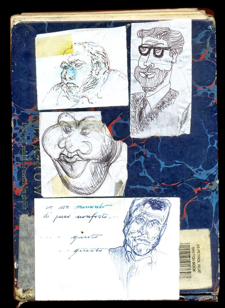 My work in the pharmacy Sketcher Riccardo Giunti sketchbook summer 2002. #riccardogiunti