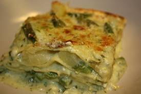 Alimentazione Sana & Cucina Naturale: Lasagne al forno con fagiolini e squacquerone