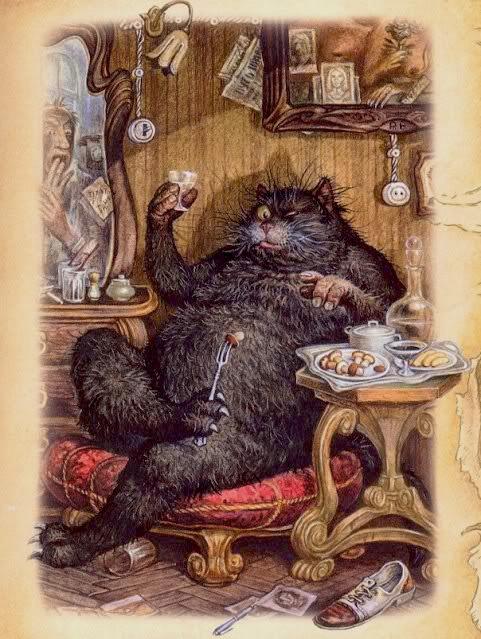 "Behemoth - illustration for the book, ""Master and Margarita"" by Mikhail Bulgakov"