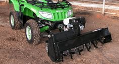 Tiller for ATVs & UTVs - Description - BERCO Accessories for garden tractors and lawn, snowblower for ATV and UTV