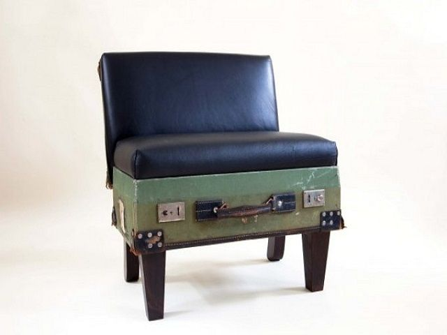 The 25  best Suitcase chair ideas on Pinterest | Vintage luggage ...