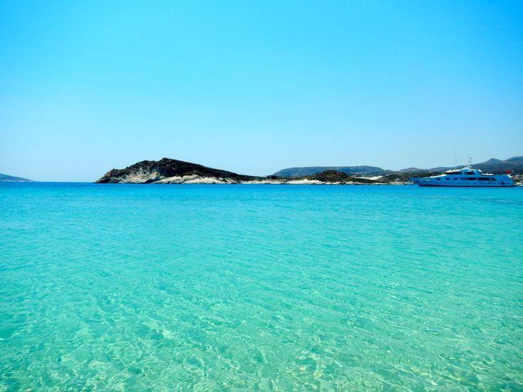 Prassa beach, Kimolos