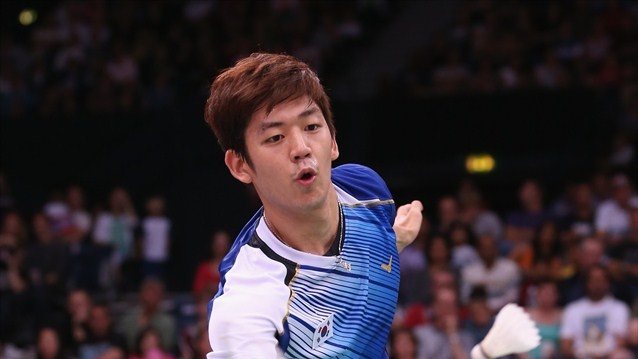 Lee Yong Dae in action #Badminton
