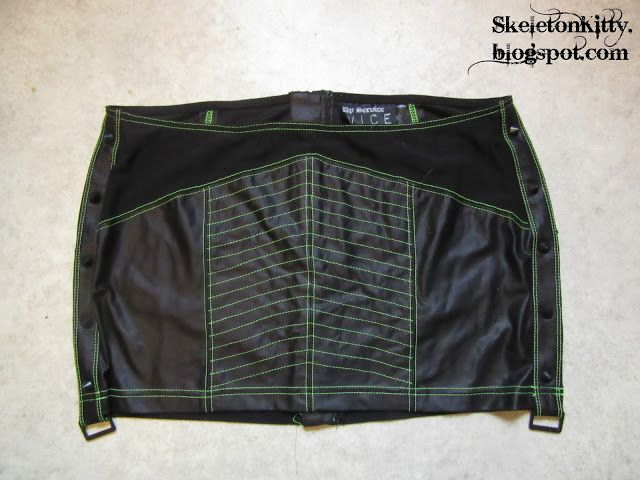 LIP SERVICE Desensitized mini skirt #12-125