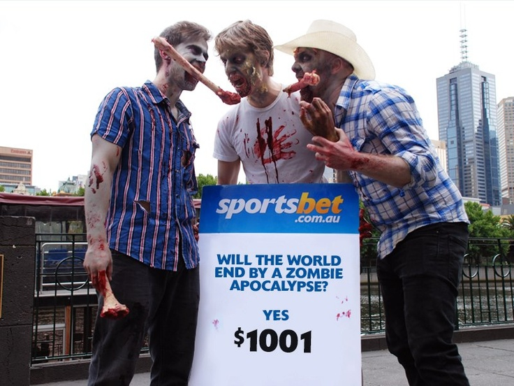 Novelty betting - Mayans are betting on the world to end. We're betting on Zombies to make it so! - Sportsbet.com.au