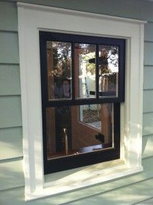 How to repair historic wood windows...  wish we had looked at this before winter!