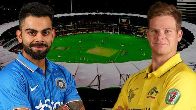(adsbygoogle = window.adsbygoogle    ).push({});  Watch Australia vs India 1st T20 Live Cricket Streaming  The Australia Tour of India series : Australia vs India is scheduled at 19:00 (IST)14:30 (UK Time) on 7 Oct 2017.  Follow Australia as they take on India in the 1st T20 of the Australia Tour of India.  You can watch this game in between India and Australia  Right Here.   #JSCA International Stadium Complex #19:00 (IST)14:30 (UK Time) #1st T2