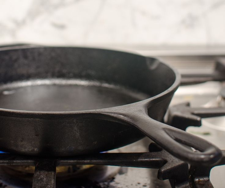 While our party line, here at The Kitchn, is that the cast iron skillet is one of your best friends in the kitchen, I've always been a little intimidated by mine