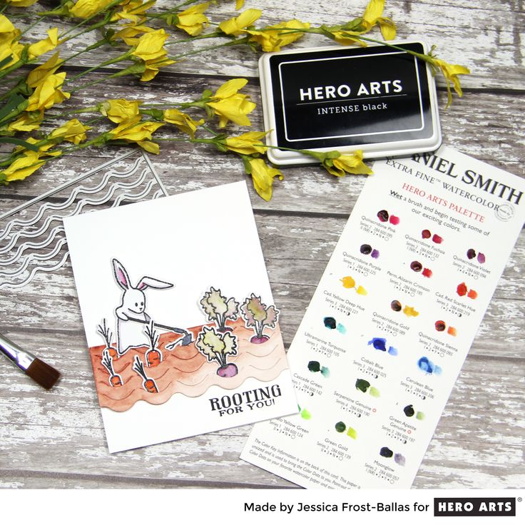 My Monthly Hero: Creativity in a Box March 2017 kit idea #1 by Jessica  Frost-Ballas. Kit and add-ons available for purchase Monday, March 6. #mymonthlyhero