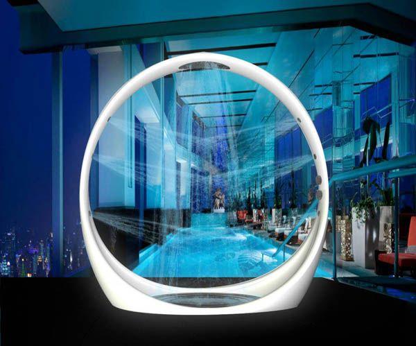 Loving this outdoor shower ... Luxurious Loop Shower 4: Showers, Shower Designs, Loops Shower By Diego Grane 4, Good Ideas, Outdoor Shower, Bubbles, Diego Granes, Italian Design, Design Studios